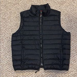 Men's black Hawke & Co puffer vest size L